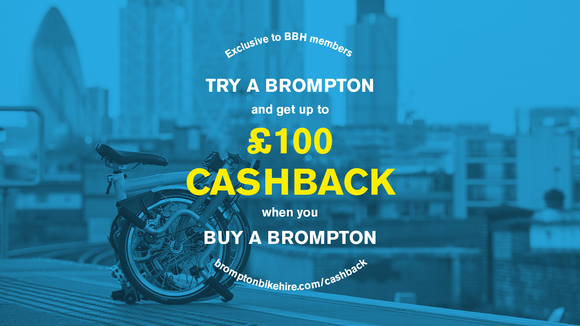Brompton Bike Hire Cashback