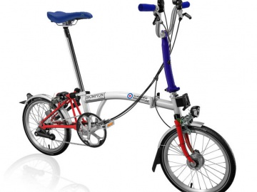 Limited edition Brompton made for RAFBF Battle of Britain (75th Anniversary)